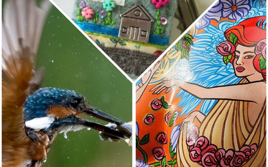 LincsConnect Lincolnshire Art Craft Hour