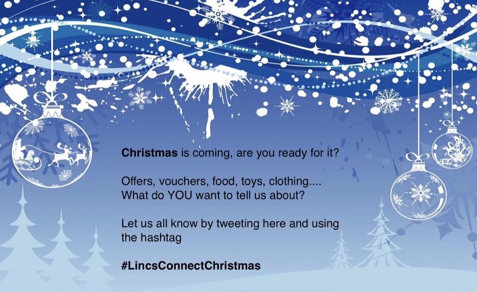 For A Lincolnshire Christmas Use #LincsConnectChristmas